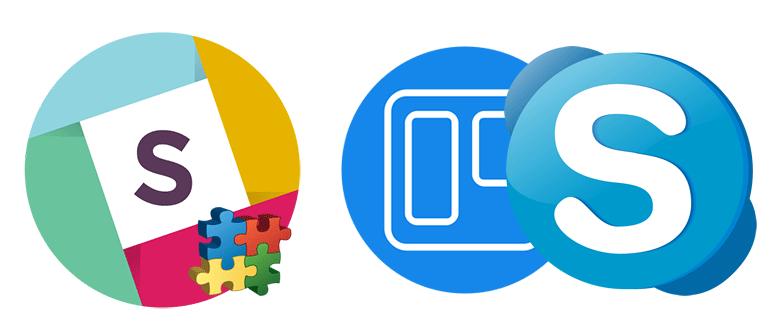 Как сделать интеграцию Slack, Trello и Skype