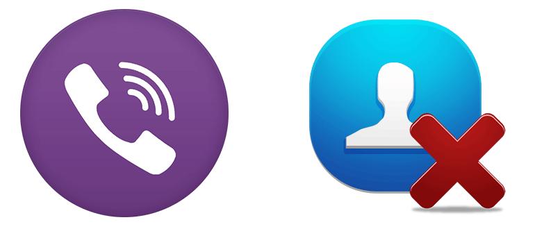Как удалить контакт или номер из Вайбера на телефоне