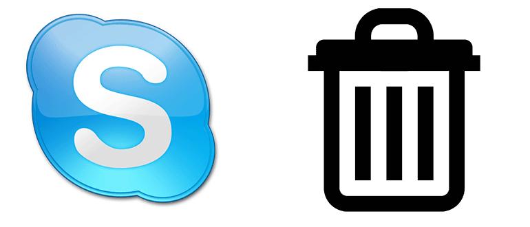 Как удалить Скайп полностью