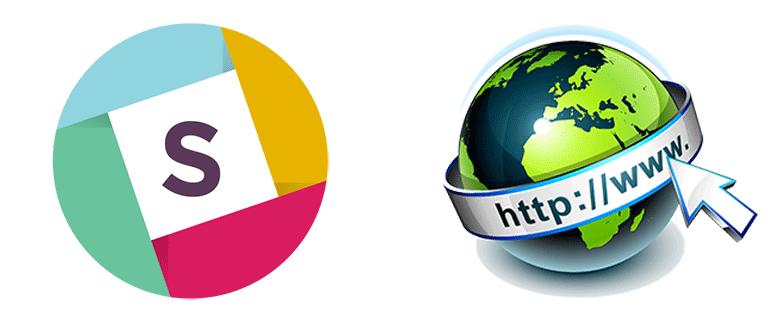 Онлайн версия мессенджера Slack WEB