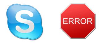 Ошибка Skype - Не удалось установить соединение
