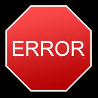Ошибка в приложении