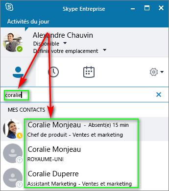 Поиск в Скайп для бизнеса