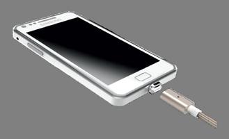 Телефон и USB кабель