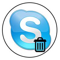 Удаление Скайп