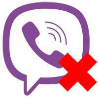 Удалить Viber