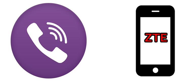 Viber на смартфон ZTE