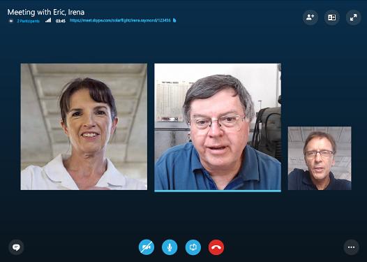 Видеозвонок в Скайп для бизнеса