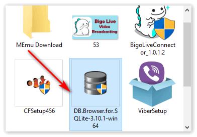 Загрузчик SQLite