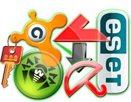 Иконки антивирусов