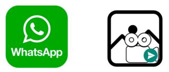Как отправить фото или видео с компьютера на WhatsApp