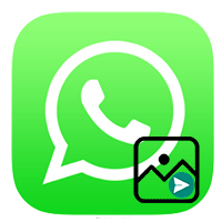 Как отправить фото по WhatsAppу с телефона