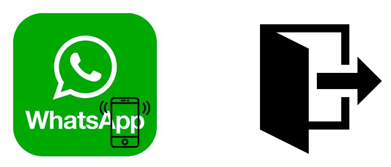 Как выйти с WhatsApp на телефоне