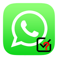 Одна и две галочки в WhatsApp что значат
