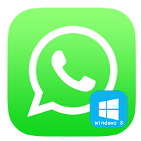 WhatsApp для компьютера на Windows 8