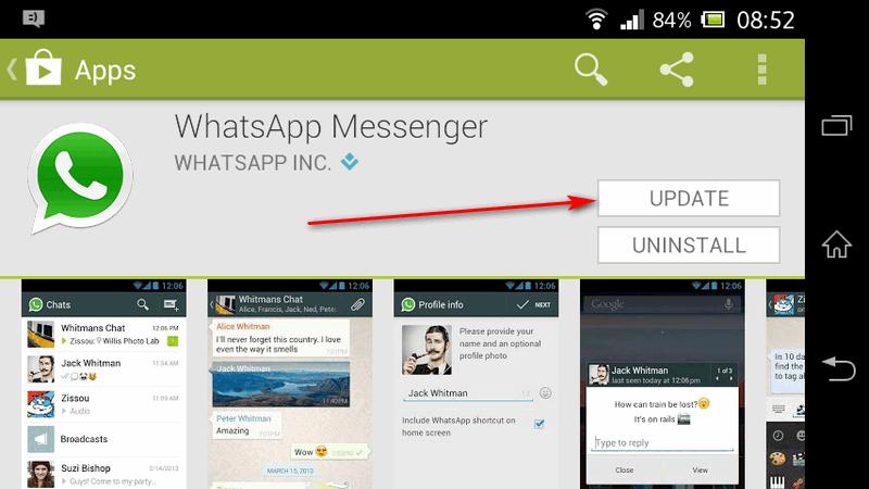Whatsapp в App Store
