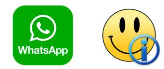 Значение смайликов в WhatsApp на русском - расшифровка