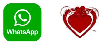Поздравление с Днем Святого Валентина для WhatsApp